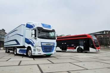 DAF launches CF e-truck with VDL