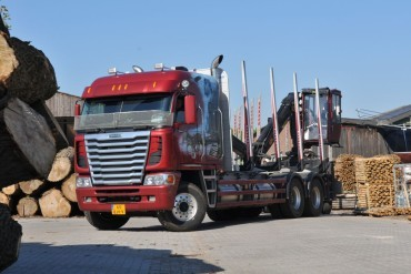 Freightliner Argosy at work in Europe
