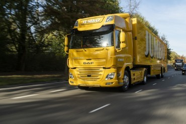 First DAF CF Electric to Dutch supermarket chain