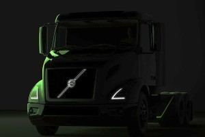 Electric Volvo VNR on it's way in US