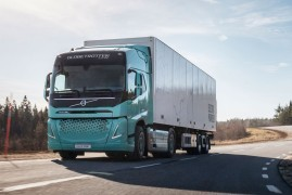 Volvo Electric show new FM cab