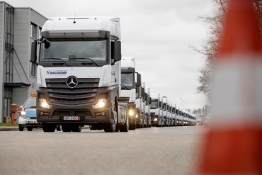 1000th Actros for Hegelmann