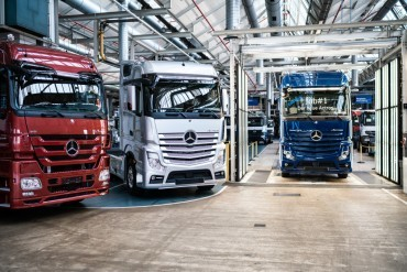 Production new Actros model started