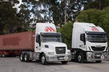 Iveco trucks for Tasmanian Monson Logistics