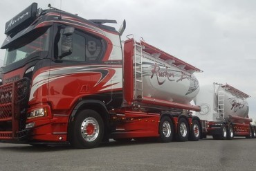 Auvinen replaces Scania 'Gunfighter'