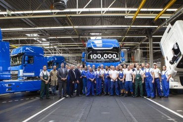 DAF produces 100.000th XF/CF model