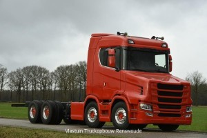 Scania S580T 8x4 Recovery truck