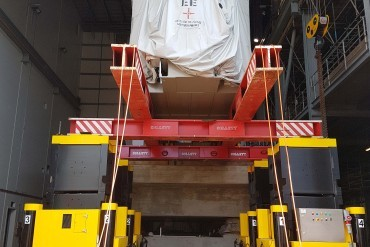 Enerpac 1000 Tonne Jack-Up for Collett Turbine and Generator Lift