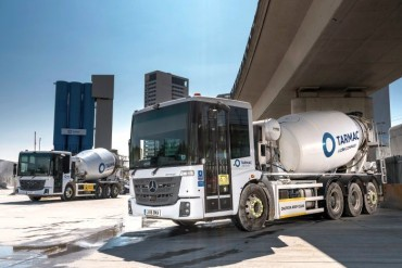Mercedes Econic concrete mixers for London