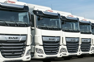 Another 1500 DAF trucks for Girteka