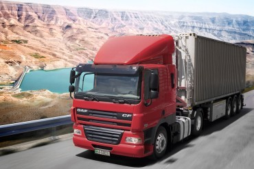 DAF delivers 500th truck in Jordan