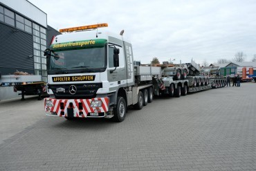 Nooteboom trailers for Affolter Transporte AG