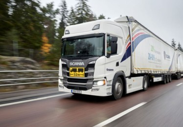 Scania Transport Lab: fossil free transport