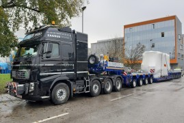 Scheuerle UltralightCombi semi-trailer for Zagrebtrans