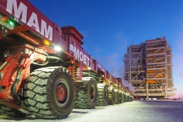 Mammoet Russia tops the '1000 Tons' Rating